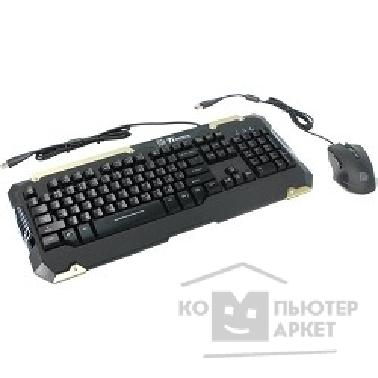 Клавиатуры, мыши Thermaltake Keyboard&Mouse Tt eSPORTS Commander Combo Black [KB-CMC-PLBLRU-01]
