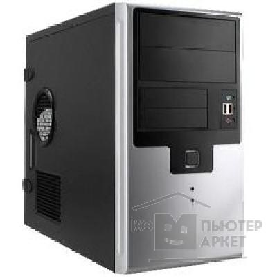 Корпус Inwin Mini Tower  EM-009BS Black 350W 12V 2*USB+AirDuct+Audio mATX [6007644/ 6026926/ 6021132]