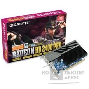 Видеокарта Gigabyte GV-RX24P256H, OEM  Radeon HD2400Pro, 256Mb DDR, DVI, TV-out  PCI-E