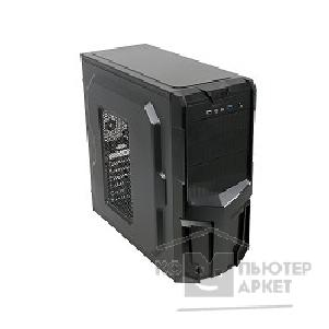Корпус 3Cott 3001B ATX Black 500Вт, USB, Audio, Black