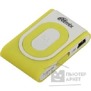 Плеер Ritmix RF-2400 4Gb White/ Yellow