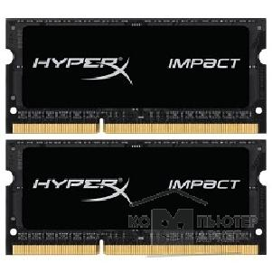 Модуль памяти Kingston DDR3 SODIMM 16GB Kit 2x8Gb HX318LS11IBK2/ 16