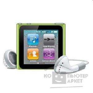 APPLE гаджет MP3 Apple iPod nano 6 8GB - green MC690QB/ A