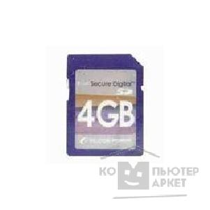 Карта памяти  Silicon Power SecureDigital 4Gb , 80x SP004GBSDC080V10