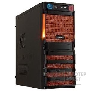 Crown Корпус Miditower  CMC-SM162 black/ orange ATX CM-PS450W smart