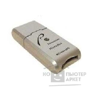 Устройство считывания USB 2.0 Card Reader Micro SD/ M2 Rovermate Microbox [Adaptmate-071] синий