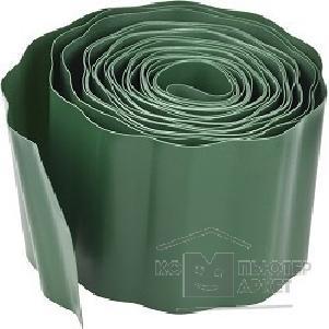 Лента бордюрная Grinda, цвет зеленый, 20см х 9 м [422245-20]/Grinda 422245-20 422245-20