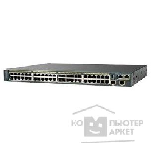 Сетевое оборудование Cisco WS-C2960S-48TD-L Catalyst 2960S 48 GigE, 2 x 10G SFP+ LAN Base