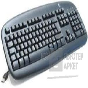 Клавиатура Logitech 967647  Deluxe Black Keyboard USB OEM