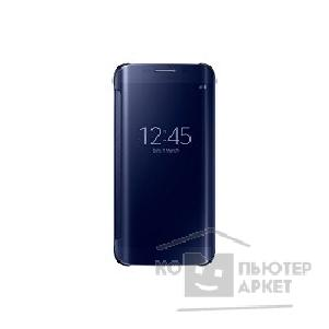 Samsung Чехол для  Galaxy S6 Edge  ClearCover black SAM-EF-QG925BBEGRU