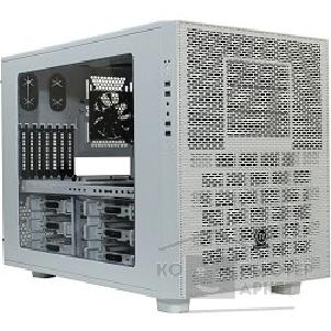 Корпус Thermaltake Case Tt Core X9 [CA-1D8-00F6WN-00] E-ATX Cube/ win/ white / USB 3.0/ no PSU