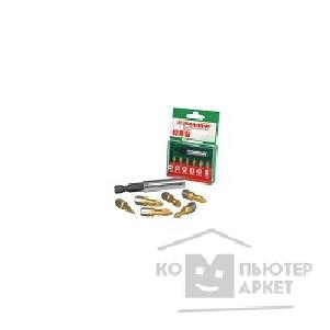 Hammer Набор бит  Flex 203-901 PB set No1 7pcs Ph/ Pz/ Sl 7шт. [30735]