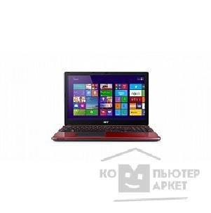 "Ноутбук Acer Aspire E1-572G-34014G50Mnrr Core i3-4010U/ 4Gb/ 500Gb/ HD8670 1Gb/ 15.6""/ HD/ Mat/ 1366x768/ Win 8 Single Language 64/ red/ BT4.0/ 6c/ WiFi/ Cam [NX.MHHER.003]"