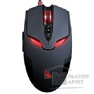 Мышь A-4Tech A4Tech Bloody V4m Gaming USB Черный ,8 кн., 3200 dpi, метал ножк