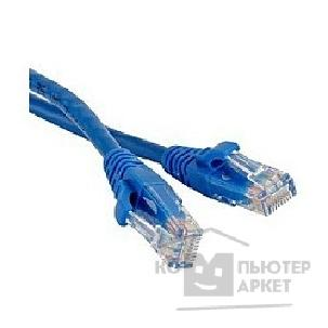 Патч-корд Hyperline PC-LPM-UTP-RJ45-RJ45-C6-10M-BL Патч-корд U/ UTP, Cat.6, 10 м, синий