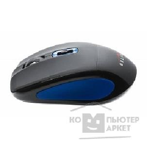 Мышь Oklick 425MW black/ blue  USB [748199]