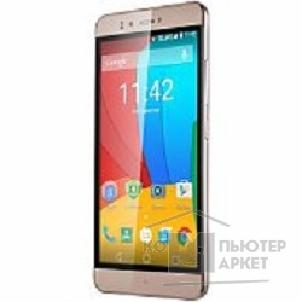 "Prestigio мобильные телефоны Prestigio Muze A7 GOLD Dual sim, 5.3"" HD 720x1280 IPS On-cell, 1.4GHz Octa Core,Android 5.1,2G RAM+16GB eMMC, 5.0MP front camera with flash+13.0MP AF with triple flash light, 2500mAh battery"