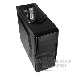 Корпус SilverStone Minitower  Precision PS10B <Black, mATX, USB3.0, Audio, без БП>