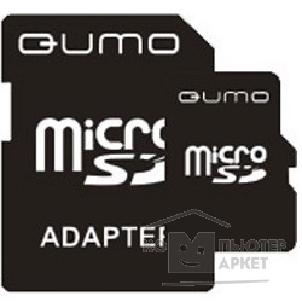Карта памяти  Qumo Micro SecureDigital 4Gb  QM4GMICSDHC4