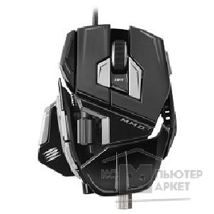 "Mad Catz Мышь  M.M.O.7 Gaming Mouse - Matt Black + подарок от ""World of Tanks MCB437130002/ 04/ 1 [PCA266]"