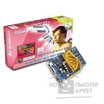Видеокарта Gigabyte GV-NX66128DP, OEM GF 6600, 128Mb DDR, TV-OUT, DVI  PCI-E