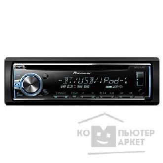 Pioneer Автомагнитола  DEH-X5800BT, 1 DIN, CD/ USB/ AUX/ iPod/ iPhone/ Android, Bluetooth