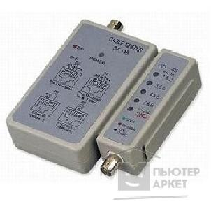Инструменты Telecom [6926123456002] LAN тестер ST-45 LY-CT001 для BNC, RJ-45