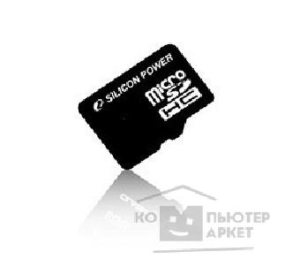 Карта памяти  Silicon Power Micro SecureDigital 16Gb  SP016GBSTH006V10-SP