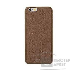 ����� Ozaki O!coat 0.3 + Canvas case for iPhone 6. Brown OC557BR