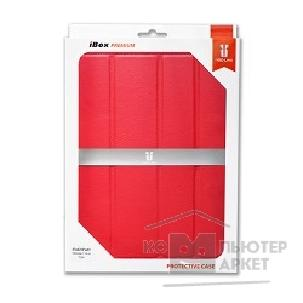 Ред Лайн  Чехол - книжка iBox Premium для iPad 2/ iPad 3 - Slimme Cover Type Red LC красный with sleep mode