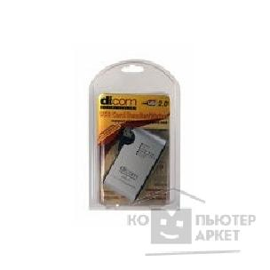 ���������� ���������� Dicom USB 2.0 Card Reader/ W  DCR-207 All format card, �����������