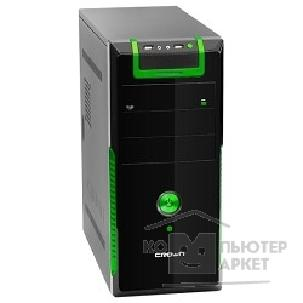 Crown Корпус Miditower  CMC-33 black/ green ATX CM-PS450W Superior
