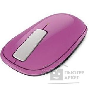 Microsoft Мышь  ARC Wireless Touch dahlia pink U5K-00040
