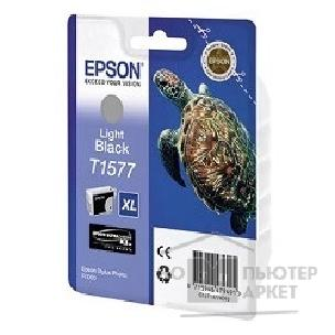 Расходные материалы Epson C13T15774010  для Stylus Photo R3000 Light Black  cons ink