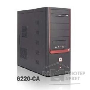Корпус SuperPower MidiTower SP 6220-CA Черный  400W  USB/ AU/ SATA
