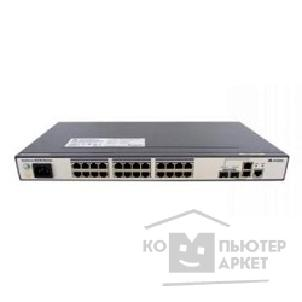 Коммутаторы, Маршрутизаторы Huawei S2700-26TP-PWR-EI 24 Ethernet 10/ 100 PoE+ ports,2 dual-purpose 10/ 100/ 1000 or SFP,without power module
