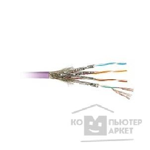 Кабель Hyperline SSTP4-C7-PATCH-INDOOR Кабель SSTP S/ FTP , кат 7 600MHz , 4 пары 26AWG многожильный patch , LSZH. 20 метров
