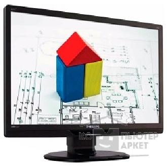 "Монитор Philips LCD  21.5"" 221S3UCB 00/ 01 Glossy-Black TN LED 5ms 16:9 HAS Pivot 150cd USB"
