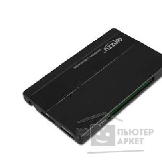 Устройство считывания USB 2.0 Card reader SDXC/ SD/ SDHC/ MMC/ MS/ microSD/ M2/ CF [GR-419B] Black
