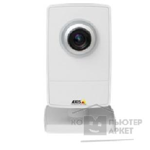 Цифровая камера Axis M1014 Small-sized indoor network camera. Fixed lens and adjustable focus. Multiple, individually configurable H.264 and Motion JPEG streams; max HDTV 720p or 1 MP resolution at 30 fps