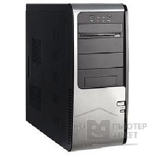 Корпус SuperPower MidiTower SP 6236-A1/ A11 Черно-серебр.  400W  USB/ AU PW 1 24 Pin SATA