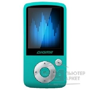 "����� Digma 783904 ����� Flash  B2 8Gb turquoise 1.8"" FM / AMV/ MP3/ WMA/ FLAC/ APE/ WAV/ JPG/ TXT/ TF slot"