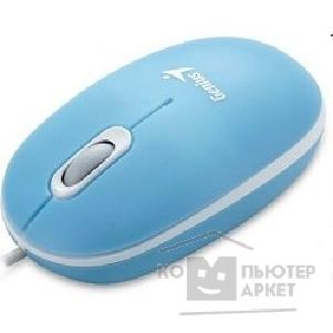 Мышь Genius ScrollToo 200 Optical, USB, Blue 1200dpi, 3 кнопки
