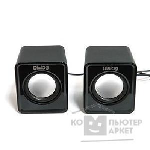 Dialog Colibri AC-02UP BLACK {акустические колонки 2.0, 5W RMS, питание от USB}/Dialog AC-02UP AC-02UP BLACK