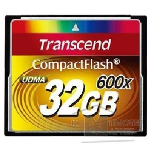 Карта памяти  Transcend Compact Flash 32Gb , High Speed TS32GCF600 600-x