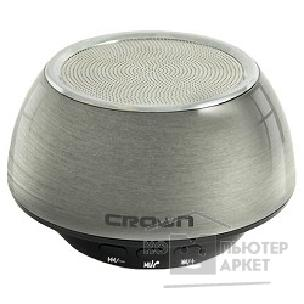 Колонки Crown Bluetooth - колонка CMBS-304 1*3W,300mAh, металл [CM000001197] метал