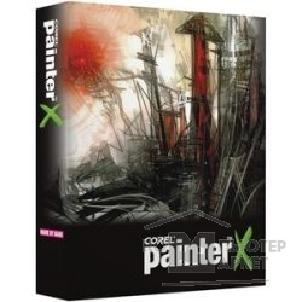 Программное обеспечение Corel PTRXENGPCMDVDA  Painter X ENG PC/ MAC Education Edition DVD Case