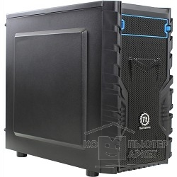 Корпус Thermaltake Case Tt Versa H13 mATX/ black/ USB 3.0/ no PSU [CA-1D3-00S1NN-00]