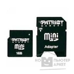 Карта памяти  Patriot Mini SecureDigital 2Gb , PSF2GMSD