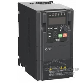 IEK Частотно-регулируемый привод Iek A150-33-075HT Преобразователь частоты A150 380В 3Ф 0,75кВт 3А со встроенным тормозным модулем ONI/IEK Частотно-регулируемый привод Iek A150-33-075HT Преобразователь частоты A150 380В 3Ф 0,75кВт 3А со встроенным тормозным модулем ONI